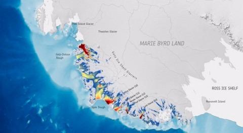 investigación sostiene que glaciares antárticos aceleran carrera océano