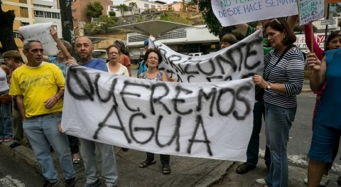 Derecho al agua: emergencia humanitaria compleja Venezuela