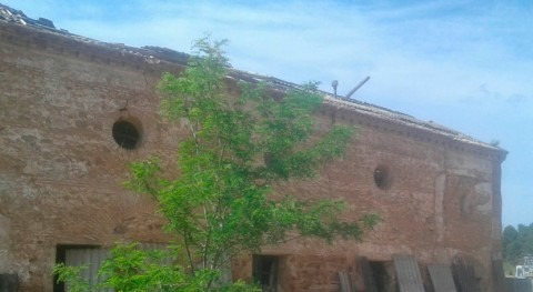 Aragón autoriza derribo casa Venta Palacios, inundable embalse Mularroya