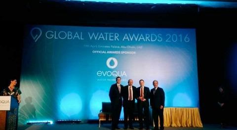 Veolia Water Technologies se alza Global Water Award Mejor Compañía Agua