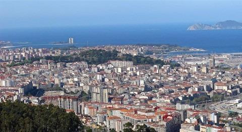 gobierno gallego procede retirada árboles y ramas caídos río Barxa, Vigo