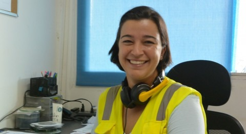 """Virginia Cabrillo Dopazo: """"Cada vez somos más mujeres pie obra"""""""