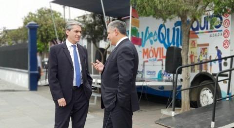 Representantes BID visitan EPMAPS-Agua Quito