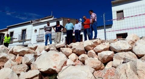 CHG visita actuaciones realizadas entorno río Yeguas inundaciones