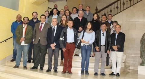 delegación técnica y comercial Hispanoamérica visita Confederación Segura