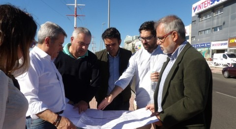 Comienzan obras nueva estación bombeo Llano Camello, San Miguel