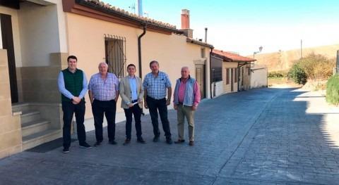 reurbanización Foncea mejora eficiencia instalaciones agua y saneamiento