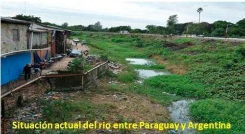 Paraguay y Argentina realizan visita técnica desembocadura río Pilcomayo