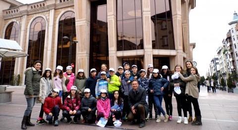 Escolares Villafría visitan primeros Depósitos Agua Oviedo