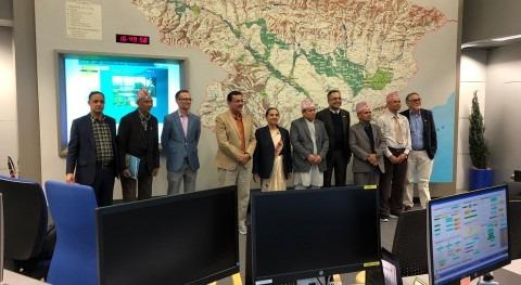 delegación Nepal Confederación Hidrográfica Ebro