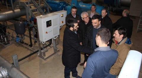 conseller Medio Ambiente Baleares visita instalaciones FACSA