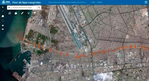 peruanos podrán conocer si propiedades invaden faja marginal río