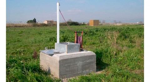 ACA destina 204.000 euros instalación seis puntos control aguas subterráneas