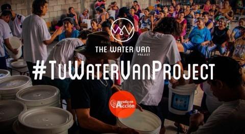 #TuWaterVanProject, distribuyendo filtros potabilizadores agua Colombia y Bolivia