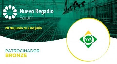 VYR S.., líder europeo accesorios riego, Bronze Sponsor Nuevo Regadío Forum