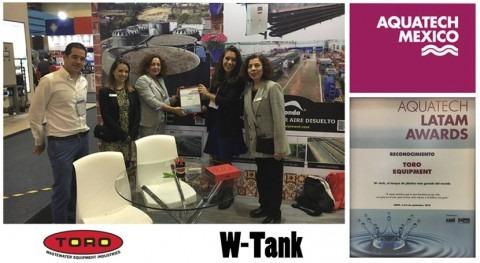 W-Tank® recibe reconocimiento Aquatech México