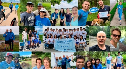 Hach participa inicitaiva Walk for Water