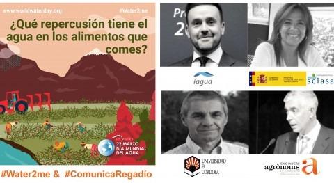 #Water2me & #ComunicaRegadío