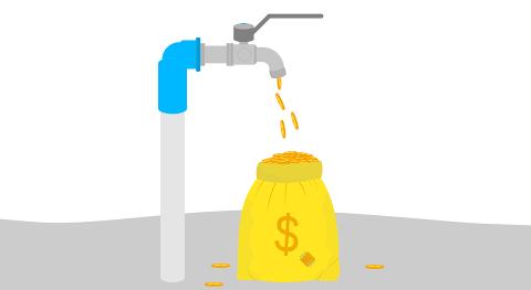 ¿ qué no gestionar agua uso, vez castigarla patente que no funciona?