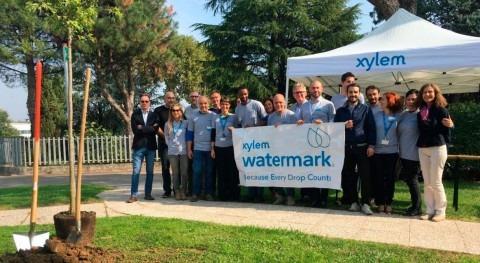 Empleados Xylem se ofrecen ayudar mejorar recursos hídricos