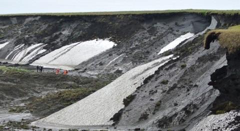 deshielo permafrost: amenaza fango prehistórico