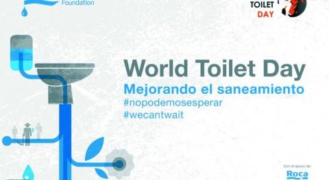 #WorldToiletDay: Cada 20 segundos muere niño saneamiento insuficiente