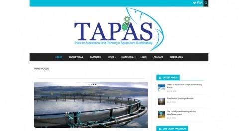 Lanzamiento página web proyecto TAPAS