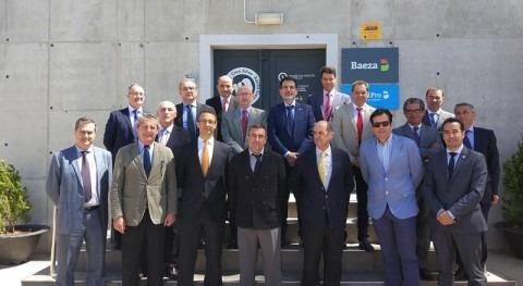Grupo Baeza acoge reunión Consejo Rector ASA Antequera