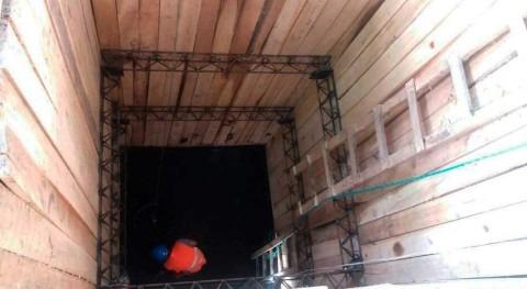 Nos preparamos invierno avance construcción colector alivio Galo Plaza