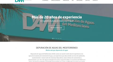 DAM estrena nueva web, más navegable y accesible actividad