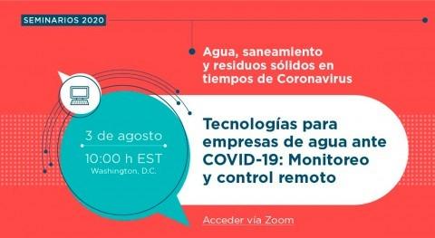 """Webinar BID: """"Isle Tecnologías empresas agua COVID-19: Monitoreo y Control Remoto"""""""
