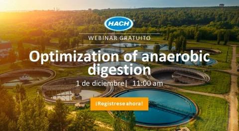 Webinar gratuito: Optimización digestión anaerobia