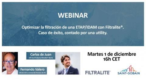 Filtralite®, aliado perfecto optimizar filtración ETAP e IDAM