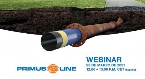 """Primus Line organiza webinar: """"Rehabilitación conducciones impulsión aguas residuales"""""""
