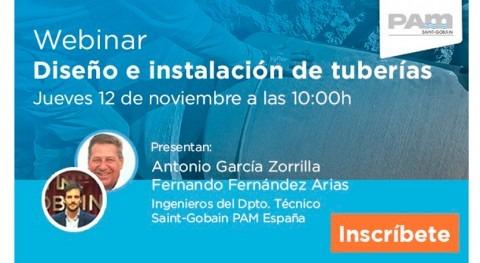 Webinar 12 noviembre: diseño e instalación canalizaciones fundición dúctil