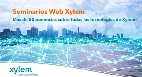 Xylem refuerza formación online más 50 seminarios y veinte expertos sector hídrico