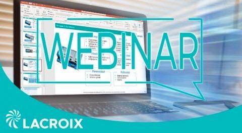 LACROIX organiza webinars gratuitos dar conocer soluciones dedicadas al sector agua