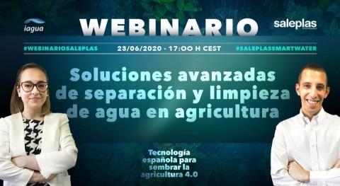 Así son soluciones avanzadas separación y limpieza agua agricultura Saleplas