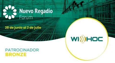 Widhoc, tecnología mejorar y optimizar cultivos, Bronze Sponsor Nuevo Regadío Forum