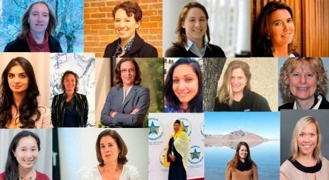 mujeres no están suficientemente representadas sector agua. ¿ qué cree que se debe?