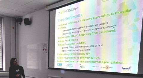 "DAM participa congreso IWA ""Innovations in Wastewater Treatment"" organizado Aqua Enviro"