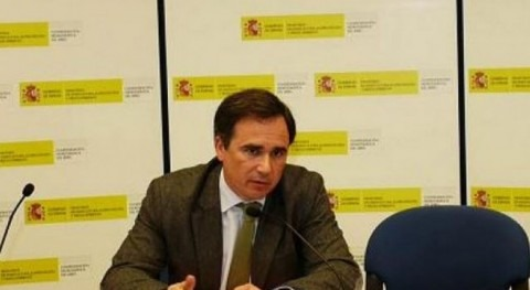 Xavier de Pedro, presidente de la Confederación Hidrográfica del Ebro