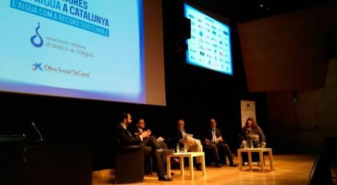 Dr. Xavier Bernat, Cetaqua, participa II Congreso Agua Cataluña