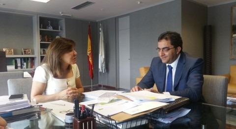 Xunta estudia posibles mejoras saneamiento Morgade, Xinzo Limia