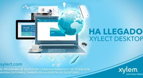 Xylem lanza Xylect Desktop, plataforma todos productos y proyectos disponible offline
