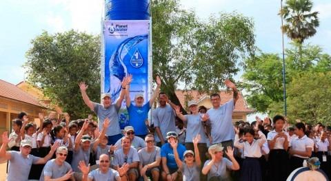 Xylem suministra agua y energía 4.000 personas aldeas remotas Camboya