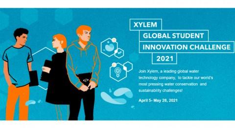 Xylem reta estudiantes Desafío Global Innovación estudiantes 2021