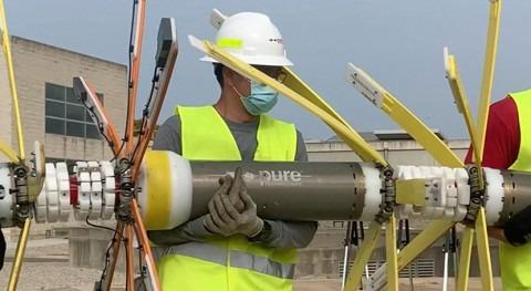 SmartBall y PipeDiver Xylem evalúan estructuralmente tuberías interrumpir servicio