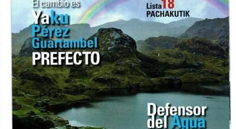 irrupción agua política ecuatoriana