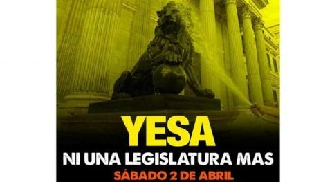 """WWF se suma manifestación """"Yesa, ni legislatura más"""""""